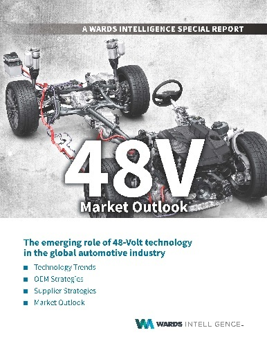 48V Market Outlook: A Wards Intelligence Special Report