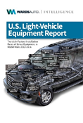US Light Vehicle Equipment Report